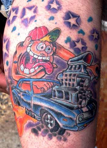 Tattoos - rat rod - 21971