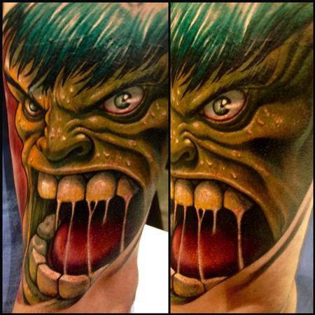 Tattoos - Hulk smash - 102053