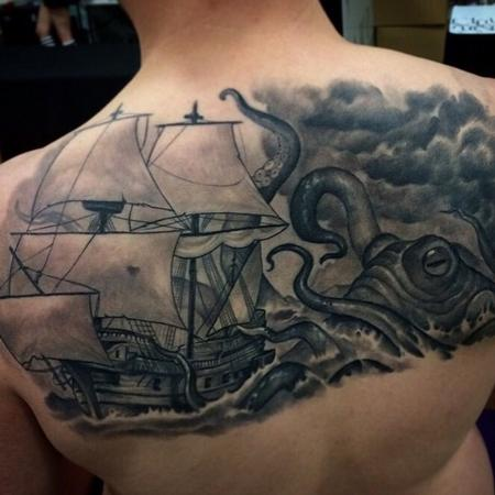 Tattoos - The monster from the deep - 102054