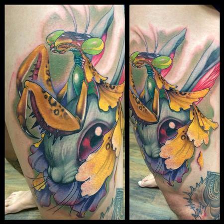 Tattoos - Mantis rabbit - 94960