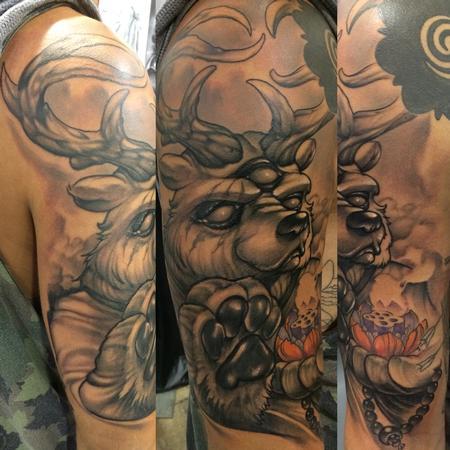 Tattoos - Sacred bear - 94962
