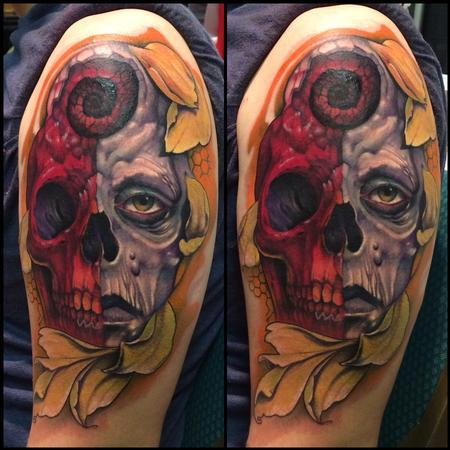 Tattoos - Skull of duality - 94965