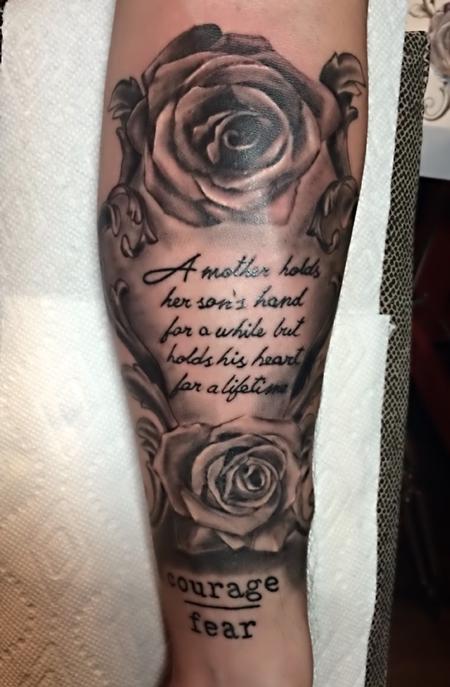 Tattoos - Homage to Mom - 126279
