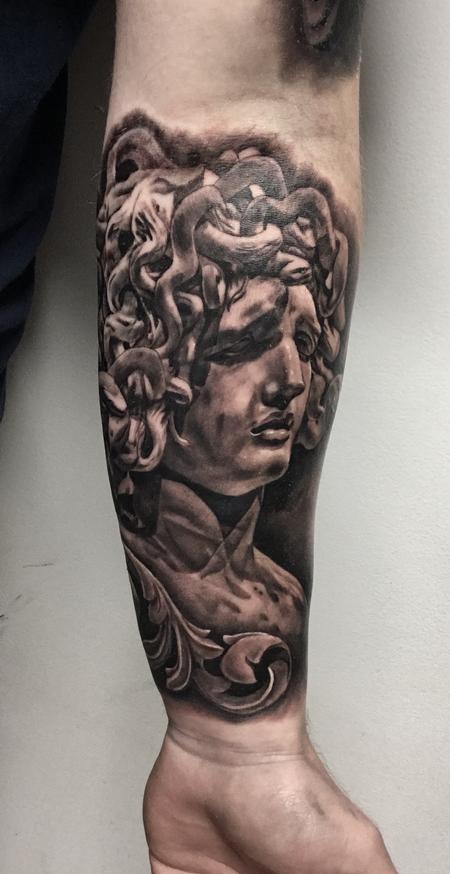 Tattoos - MEDUSA - 130375