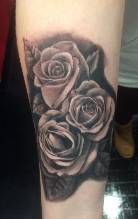 Tattoos - Roses - 127361