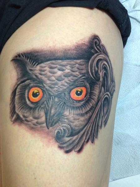 Pineapple  - OWL TATTOO