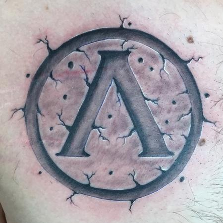 Tattoos - spartan emblem - 109096