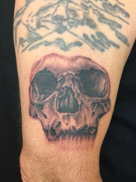 Tattoos - skull  - 109094