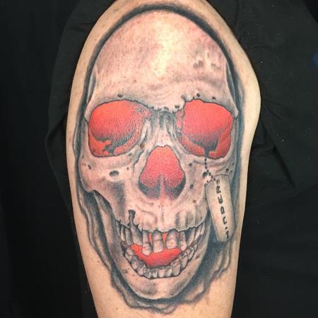 Tattoos - SKULL GLOW - 134761