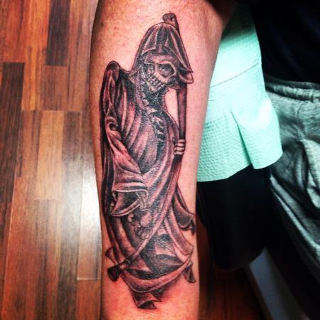 Tattoos - Reaper tattoo  - 89087