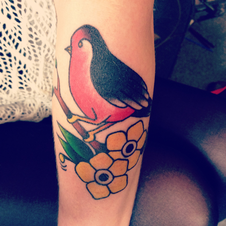Tattoos - Traditional bird - 70727