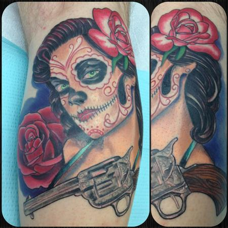 Jason A Leigh - WESTERN STYLE DAY OF THE DEAD