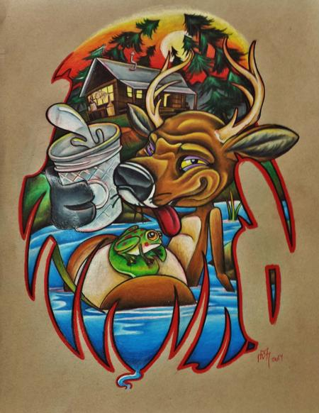 Michael Arneson - Drunken deer