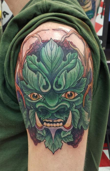 Tattoos - Greenman - 100514