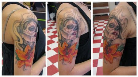 Tattoos - Day of dead - 78915