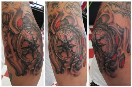 Tattoos - Compass bio - 78914