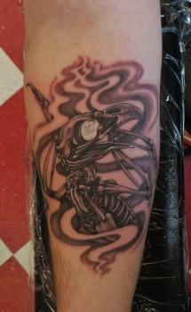 Tattoos - eagle skelly - 87488
