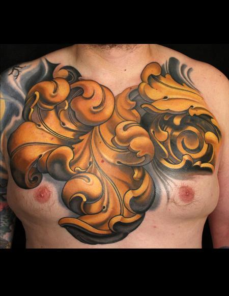 Tattoos - Ornamental chest - 96375