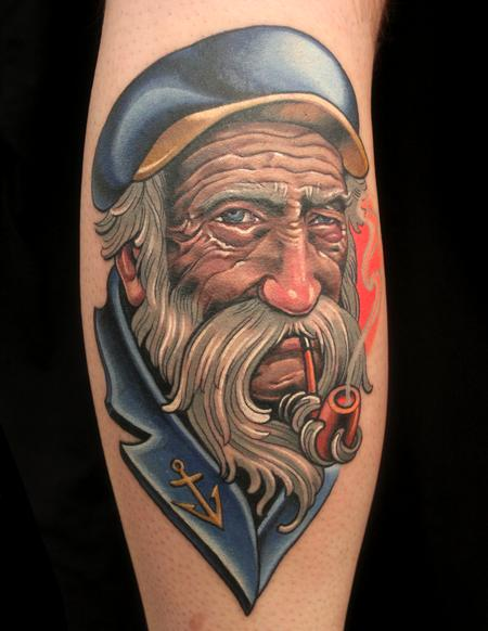 Tattoos - Sea Cap'n - 94264