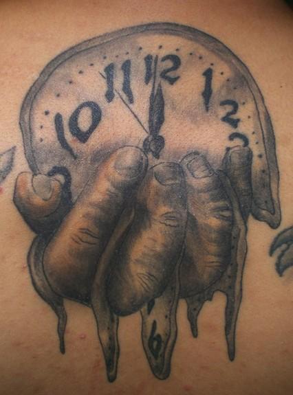 Tattoos - Melting Clock - 50756