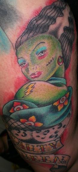 Tattoos - Franken girl - 50763