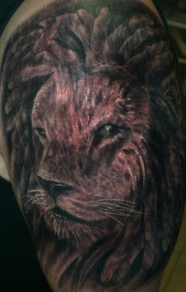 Tattoos - Lion Dreads - 50765