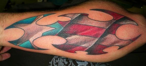 Tattoos - Puerto Rican Flag tribal - 51555