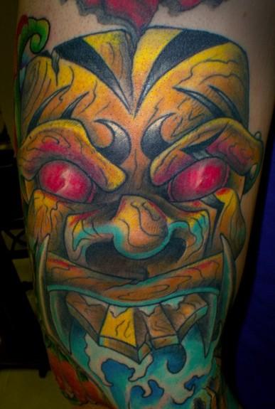 Tattoos - Tiki God. - 50767