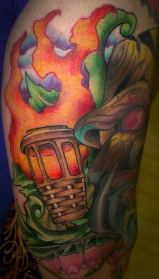 Tattoos - Tiki torch - 50770