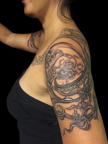 Rachel Gonzalez - Decorative Shoulder Piece
