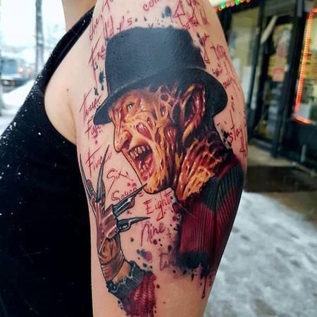 Rain Delmar - Nightmare on Elm Street