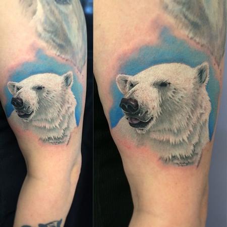 Tattoos - Polar bear - 96369