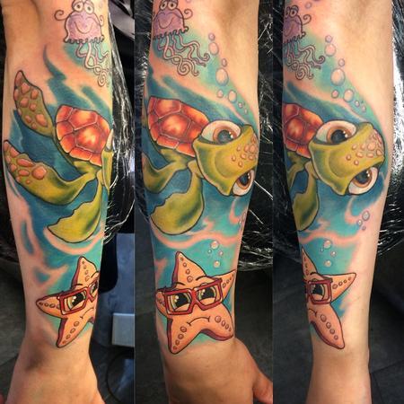 Tattoos - Turtle - 99611