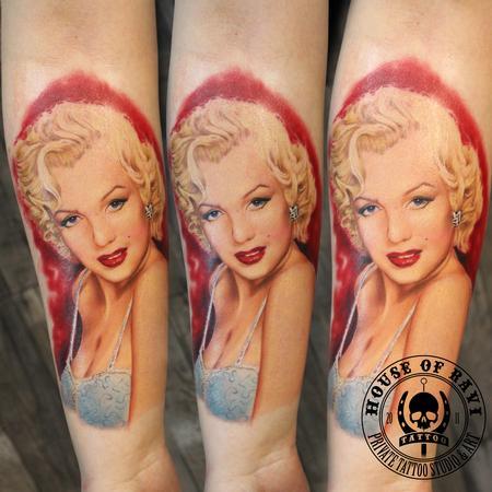 Tattoos - Marilyn - 100412