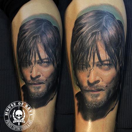 Tattoos - Daryl Dixon - 102029