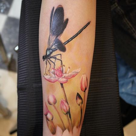 Tattoos - Dragonfly - 99120