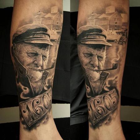 Tattoos - Fisherman - 114105