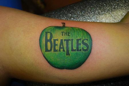 Jen White - Beatles Apple Logo