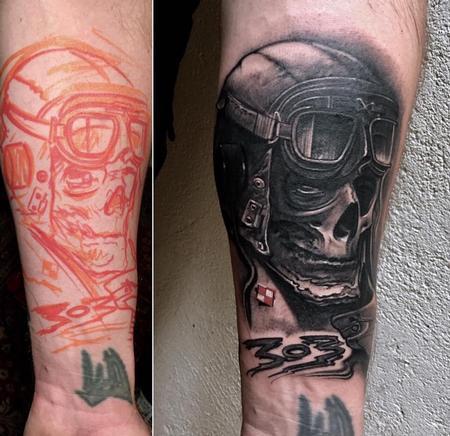 Tattoos - Squadron 303 RAF - 140401