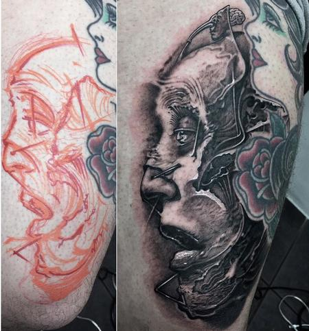 Tattoos - 7 Doors brain - London - 140407