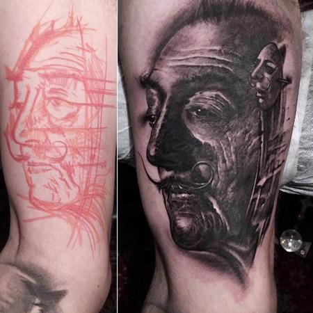 Tattoos - Dali Tattoo - 140253