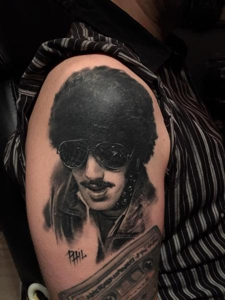 Tattoos - P Lynott  - 140403