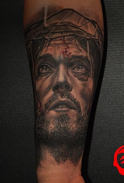 Tattoos - passion of the Christ by Roly Viruez - 126063