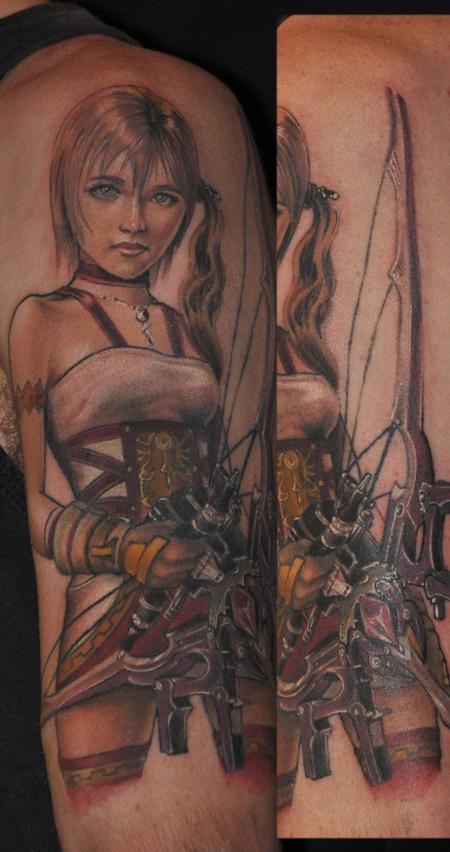Tattoos - Finalfantasy13 Serah - 93318