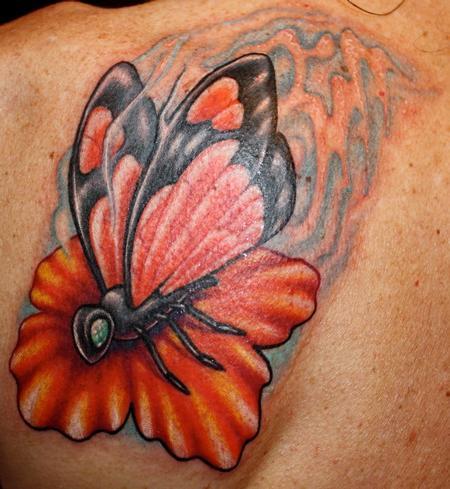 Tattoos - Butterfly Tattoo - 59237