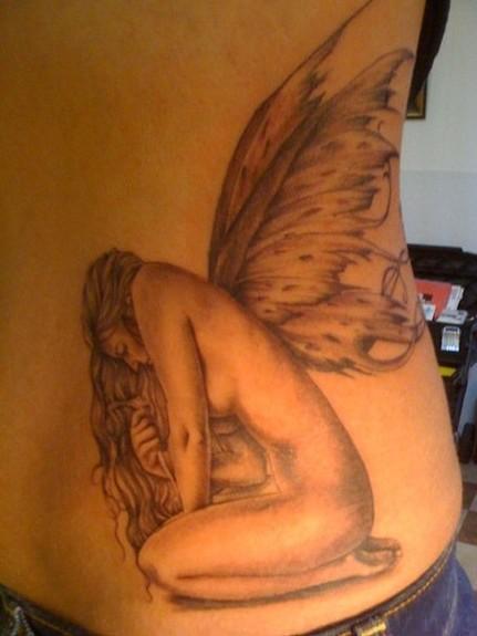 Tattoos - Realistic Fairy Tattoo - 52347