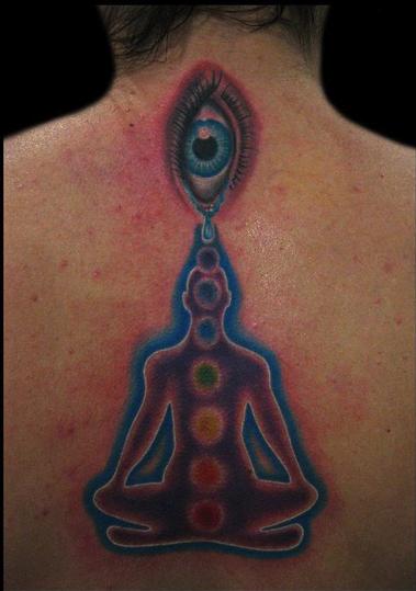 Michelle Helmer - Chakra Tattoo
