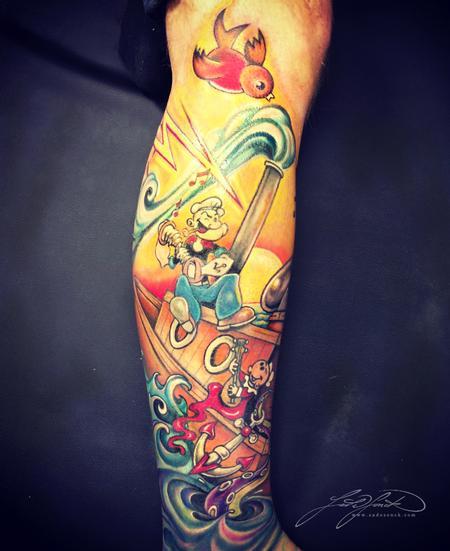 Tattoos - Popeye - 77041