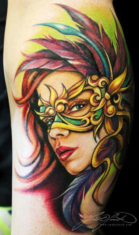 Tattoos - Mardi Gras  - 77035