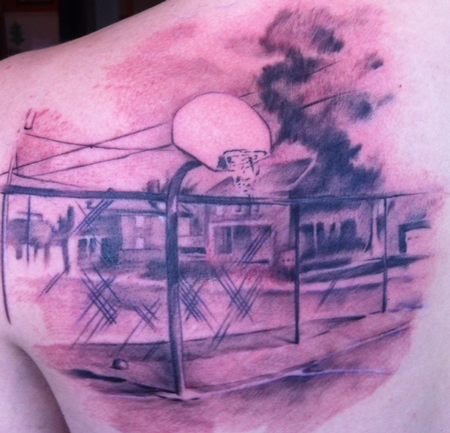 Tattoos - Basketball - 80932